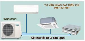 Dàn nóng 1 chiều điều hòa multi Daikin 3MKS50ESG 17,100BTU