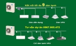 Dàn nóng 1 chiều điều hòa trung tâm Daikin VRV IV S RXMQ6AVE 6HP