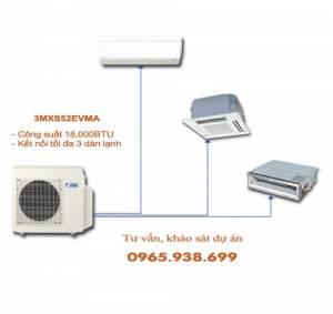 Dàn nóng điều hòa multi Daikin 2 chiều 3MXS52EVMA 18,000BTU