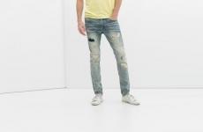 Thời trang nam, phá cách với jeans 'rách'