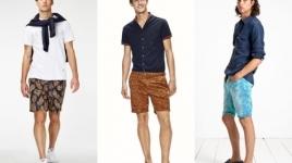 Cách mặc quần short nam đẹp theo xu hướng thời trang Hè 2015
