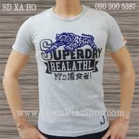 SuperDry Hổ màu xám