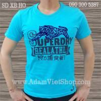 SuperDry Hổ màu xanh biển