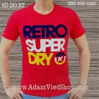 SuperDry Retro màu đỏ
