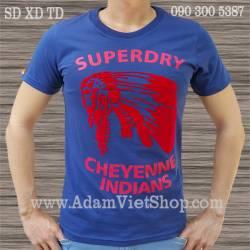 SuperDry Thổ dân màu xanh đen
