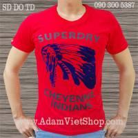 SuperDry Thổ dân màu đỏ