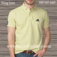 Áo nam Adidas màu kem