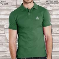 Áo nam Adidas màu xanh rêu