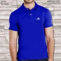 Áo thun nam Adidas xanh dương