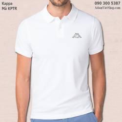 Áo thun nam Kappa trắng