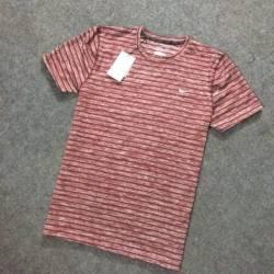 Áo thun nam Nike sọc đỏ