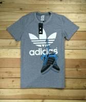 Adidas cổ tròn màu xám
