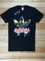 Adidas cổ tròn màu đen