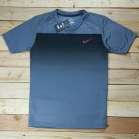 Nike cổ tròn màu xám