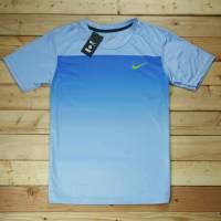 Nike cổ tròn màu xanh