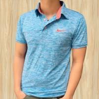 Áo thun nam Nike màu xanh trời