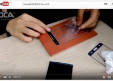 Video hướng dẫn quy trình ép kính điện thoại