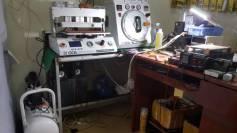 Lắp đặt bộ máy ép kính tại Bình Dương