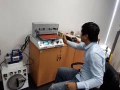 Lắp đặt bộ máy ép kính tại Hà Nội