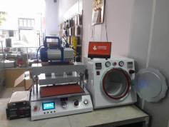 Lắp đặt bộ máy ép kính tại Cà Mau