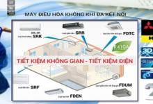 Điều hòa Multi Inverter Mitsubishi tiết kiệm không gian, tiết kiệm điện