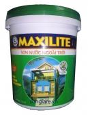 Sơn Maxilite ngoại thất - 18L