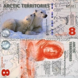Arctic Territories 8 Polar Dollars 2011