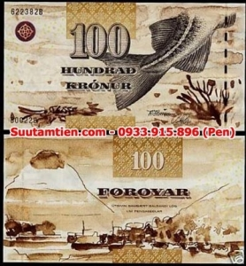 Faeroe Islands 100 Kronur 2002