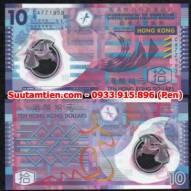 HongKong 10 Dollar 2007 Polymer