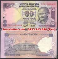 Ấn Độ - India 50 rupee 2006