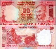 India 20 Rupees 2009