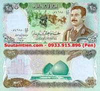 Iraq 25 Dinar 1986