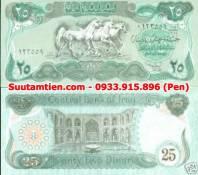 Iraq 25 Dinar 1990