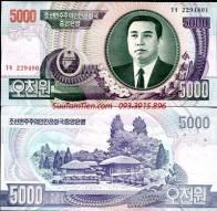 Triều Tiên - 5,000 WON 2006 P 46 UNC