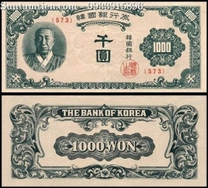 Hàn Quốc - Korea South 1000 won 1950