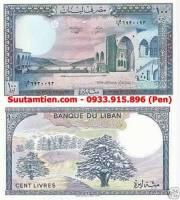 Li băng - Lebanon 100 livers 1986