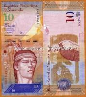 Venezuela 10 Bolivares 2008