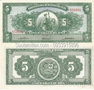 Peru 5 soles 1963