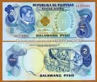 Philippines 2 pesos 1978