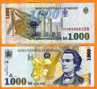 Romania 1000 Lei 1998