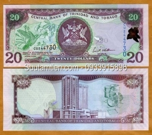 Trinidad and Tobago 20 dollar 2006 :