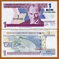 Thổ Nhĩ Kỳ - Turkey 1 lire 2005