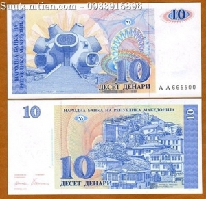 Macedonia 10 Denara 1993
