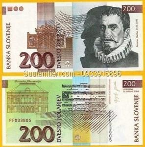 Slovenia 200 Tolarjev 2001