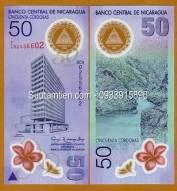 Nicaragua 50 Cordobas 2010 polymer