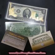 2 USD Mạ Vàng Kỷ Niệm Ngày 11-09-2001