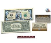 1 USD Mạ Bạc 3D