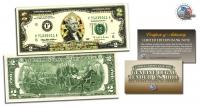2 USD Mạ Vàng 3D