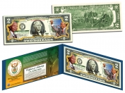 NELSON MANDELA 2 USD IN MÀU