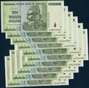 Zimbabwe 10 ngàn tỷ